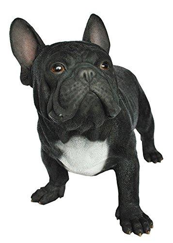 Hi-Line Gift Ltd Boston Bull Terrier Hand Painted Dog Standing Figurine