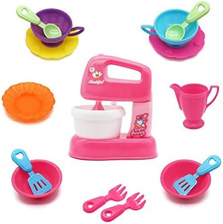 Symiu Utensilios Cocina Juguete Accesorios Cocina Infantil Batidora 16 Pieza Niños 3 4 5: Amazon.es: Juguetes y juegos