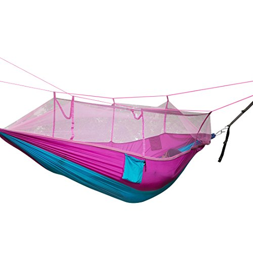 Camping-Hammock-Topist-Mosquito-Net-Hammock-Bed-Widened-Parachute-Fabric-Double-Hammock-Ultralight-Quality-Comfort-for-Camping-Hiking-Travel-Outdoors-and-Backpacking