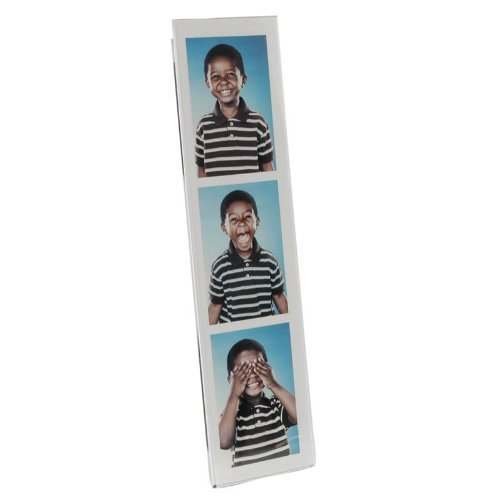 2'' x 8'' Photo Strip Acrylic Clear Magnet - Case of 50