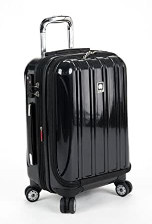 delsey luggage helium aero international carry on expandable spinner trolley one. Black Bedroom Furniture Sets. Home Design Ideas