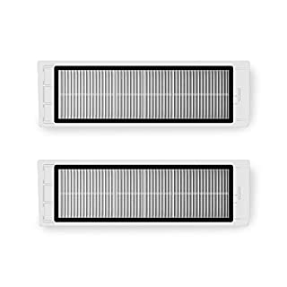 Roborock Washable Filter of Dust Bin for Roborock S6, S6 Pure, E4, S4, S5 Max, S5, E35 and E2 Robot Vacuum Cleaner(2Pcs)