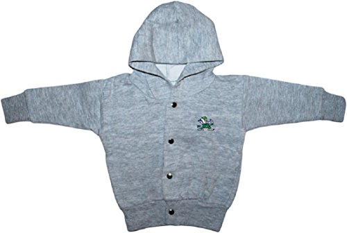 University of Notre Dame Fighting Irish Baby Snap Hooded ()