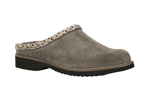 Simple Women's Hallie Mule, Taupe Suede, 8.5 M US
