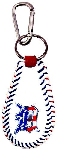 - MLB Detroit Tigers Stars and Stripes Classic Baseball Keychain