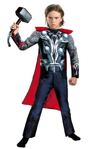 Muscle Avengers Thor Kids Costume