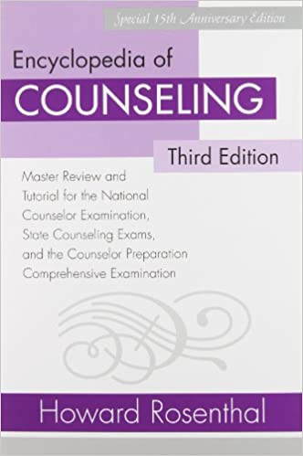 Amazon com: Encyclopedia of Counseling Package: Complete
