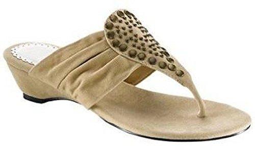 CHILLANY Dianette - Sandalias de Vestir de material sintético Mujer marrón - Marron - Sable