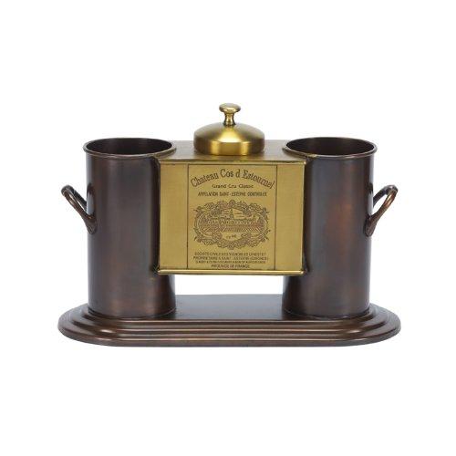 Jatex International Wine Chiller, Copper and Brass 24673