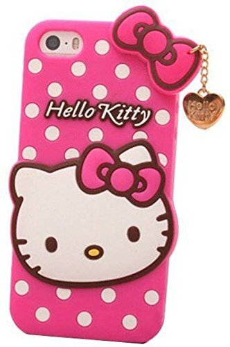 size 40 d85de efcab Anvika Printed Hello Kitty Soft Rubber Silicone Pink Back Cover Case For  Xiaomi Redmi Y1 Lite - Pink
