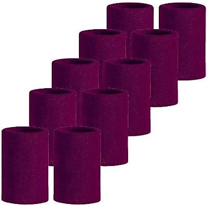 Meta-U Pairs Wholesale Purple Soft Thicken Cotton Wristbands Estimated Price £6.39 -