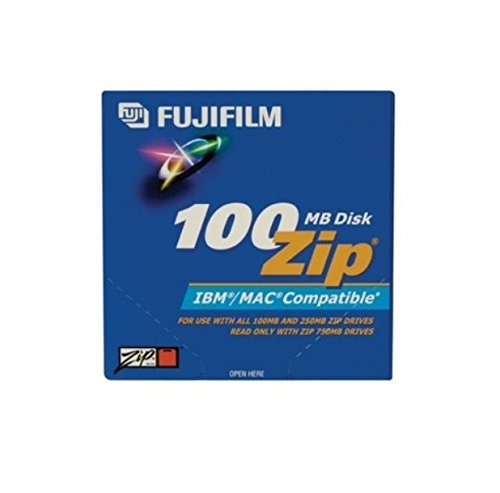 Fujifilm 5PK Zip Data CART 100MB-PC/MAC FMT (25275005) by Fuji