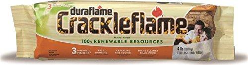 Duraflame Crackleflame 4 lb Firelogs & 6-Pack