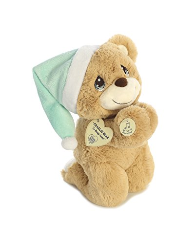 Aurora World Precious Moments Charlie Prayer Bear with Sound Now I Lay Me Down to Sleep Plush ()
