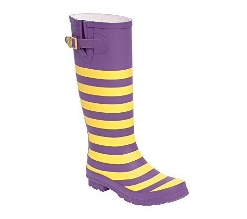 and a Lillybee Purple U Initial Gold Rainboots ZqEAqR