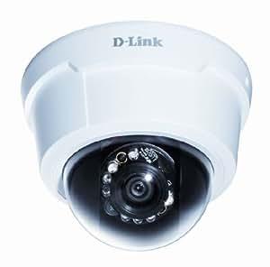 D-Link DCS-6113/B - Cámara de vigilancia en domo de 2 Mp (1920x1080, PoE, CMOS), blanco