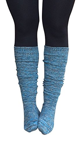 Lucky Love Womens Boot Socks, Knee High Multi-Color in Single & 2 Pack by Lucky Love