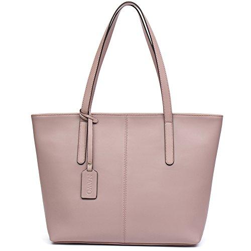 Tote Pink Fabric Handbags - 5