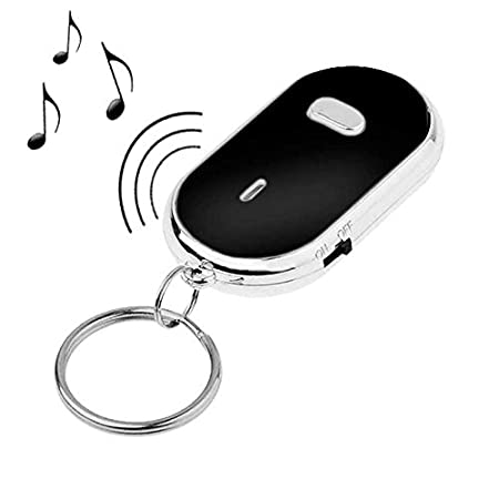 Llavero con Luz Alarma Busca Llaves Casa Coche Key Finder LED Light Azul