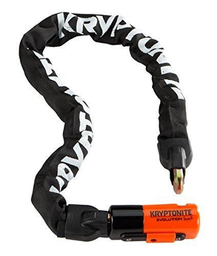 "Kryptonite Evolution Series-4 1055 Mini Integrated Chain Bicycle Lock Bike Lock (21.5"")"