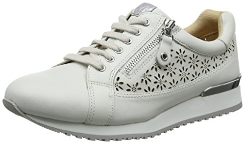 102 Bianca Derby's years X5ywnqep Ladies 23502 White Caprice Nappa Rx4qfgRw