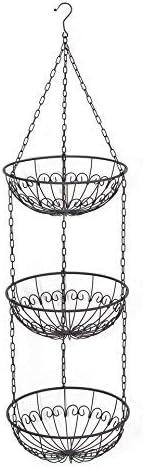3 Tier Metal Hanging Basket Pattern