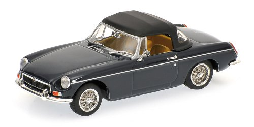 - MGB 430131044 Minichamps 1:43 Scale Cabriolet with Closed Softtop 1968 Blue