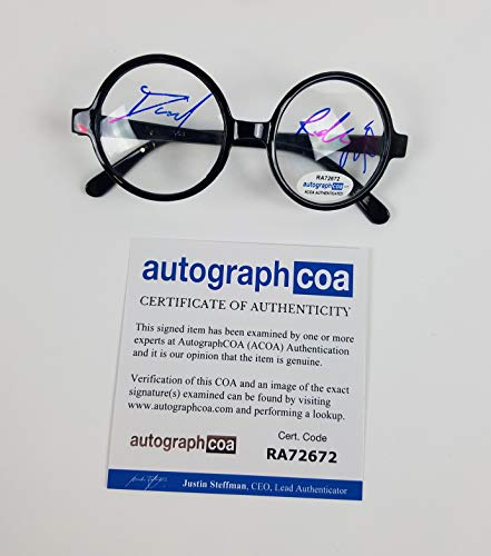 Daniel Radcliffe Autographed Signed Harry Potter Glasses ACOA -