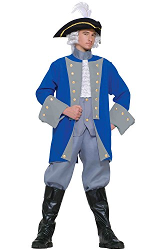 Colonial General Adult Costume One size fits up to a chest size 42