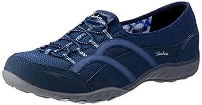 Skechers Australia Breathe-Easy - Faithful Women's Walking Shoe, Navy, 5 US