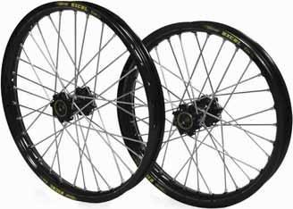 Excel Pro Series G2 Rear Wheel Set - 19x2.50 - Gold Hub/Black Rim , Position: Front, Rim Size: 19, Color: Gold 2R4GK40