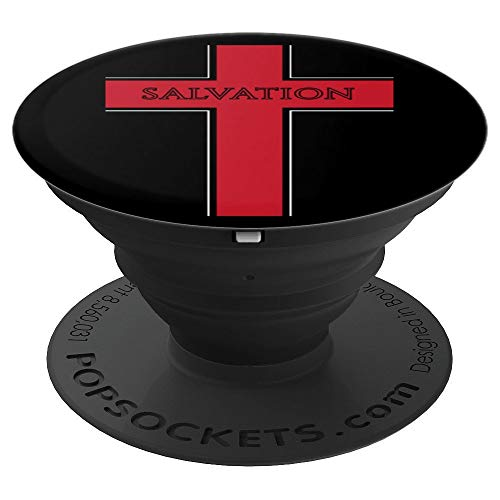 Christian Cross Salvations - PopSockets Grip and Stand for Phones and Tablets