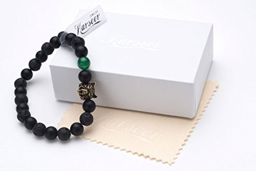Meditation Prayer Protection Jewelry Gift Unisex Karseer Buddha 7 Chakra Anti Anxiety Bracelet Stress Relief Natural Crystals Healing Stones Energy Balance Beaded Bracelet