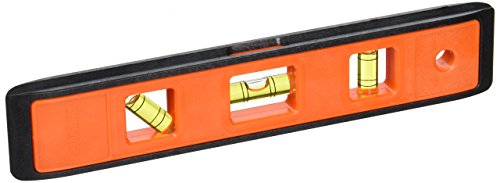 Johnson Level & Tool 7500-ORANGE 9-Inch Structo Cast Level Card