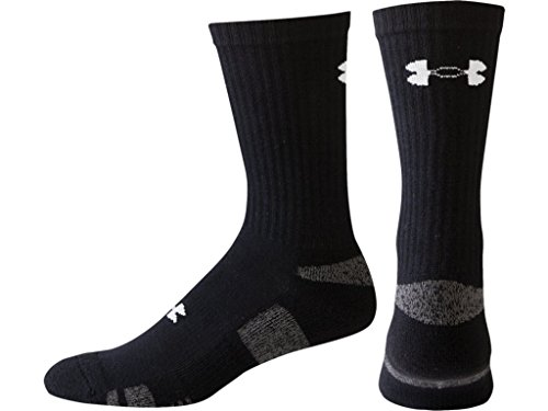 Under Armour Men's HeatGear Crew Socks (3 Pack)