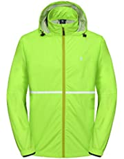Little Donkey Andy Men's Lightweight Jackets Windbreakers for Running Cycling