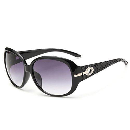 la Gafas de Purple Vendimia Sol Gafas de Las YANJING Mujeres Brown de de de Sol Black Moda Color Sol Leopard UV de ZYXCC Gafas awqdxFz