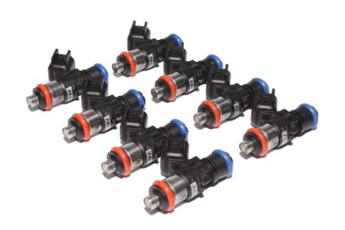 FAST 30507-8 Precision-Flow 50 lb/hr 525cc/min High-Impedance Fuel Injector for LS3/LS7, (Set of 8)