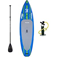 Tower Kawasaki Inflatable Stand up Paddle Board Bundle