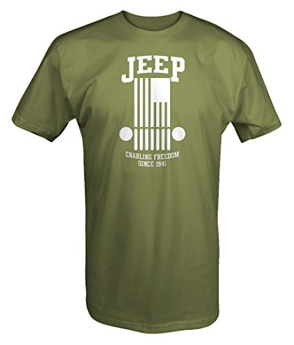 Jeep - Enabling Freedom Since 1941 Wrangler T Shirt- Large