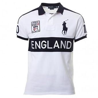 Ralph Shirt ukClothing Polo Lauren 10 co WhiteAmazon England lKuTJ3cF1