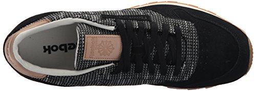 Reebok Heren Cl Leer Ebk Sneaker Zwart / Grimmige Grijs / Zand Sto