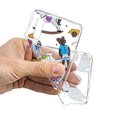 PSJI AYSMG Puppet Toys Pattern Transparent TPU Protective Case for Huawei P30: Electronics