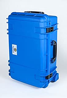 product image for Blue Seahorse 920 case with Layered Pluck Foam. with Wheels.