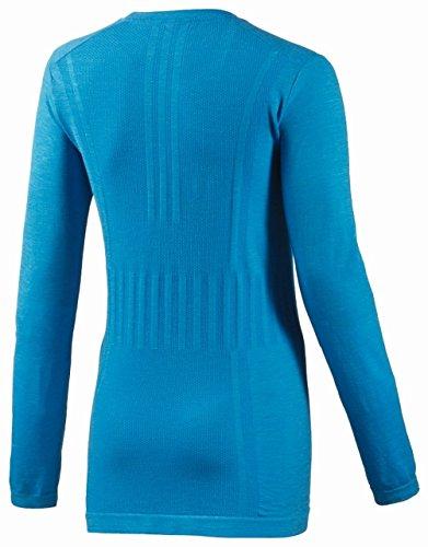 Primeknit T Manches Longues Adidas shirt Adistar Bleu A6wWcxSzq