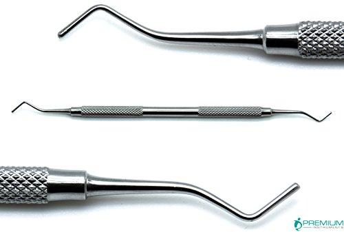Plastic Filling Double Ended 1.4mm/1.6mm Composite Amalgam Plastic Dental Root Canal Pluggers Restorative Instruments
