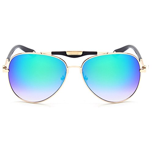 LENSTAR DSG800046C5 New Style PC Lens Metal Sunglasses,Metal Frames - Or Real Ray Bans Fake