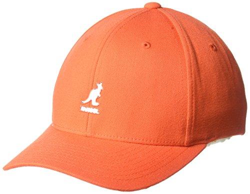 (Kangol Men's Wool Flex-Fit Baseball Cap, Safety, S/M)