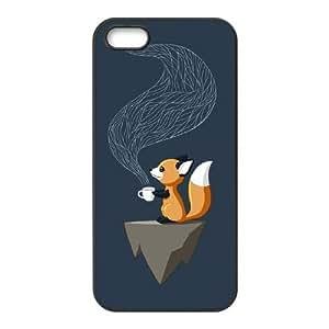 Vulpes Fox Design Unique Customized Hard Case Cover for iPhone 5,5S, Vulpes Fox iPhone 5,5S Cover Case
