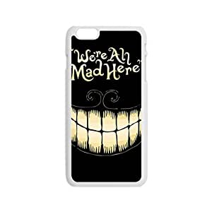 KORSE We Are All Mad Here Hot Seller Stylish Hard Case For Iphone 6